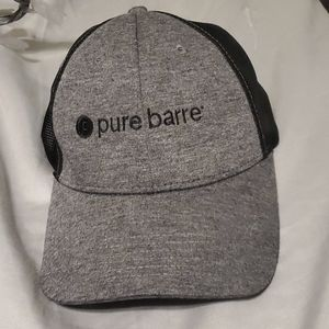 Pure Barre trucker hat